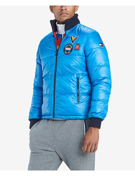 Men's Panorama Reversible Puffer Coat by Tommy Hilfiger