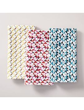 Mixed Printed Napkins by West Elm