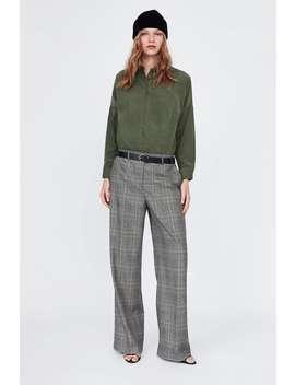 Fine Corduroy Shirt  Shirts Starting From 50 Percents Woman Sale by Zara