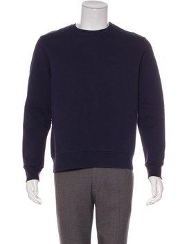 Corben Logo Embossed Sweatshirt by Acne Studios