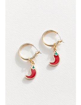 Fruity Mini Hoop Earring by Urban Outfitters