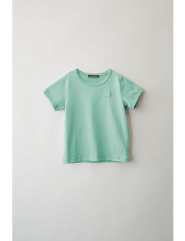 Short Sleeved T Shirt Mint Green by Acne Studios
