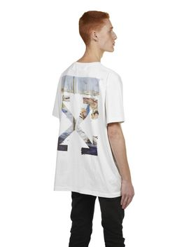 Off White Arrow Printed T Shirt by Off White