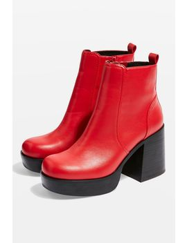 Monster Platform Boots by Topshop