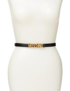 Logo Belt by Moschino