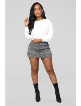 A Go Go Skirt   Black/White by Fashion Nova