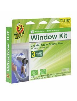 Duck Brand Indoor 3 Window Shrink Film Insulator Kit, 62 Inch X 126 Inch,  281066 by Duck