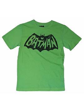Dc Comics Batman Logo Lime Green Graphic T Shirt by Fashion