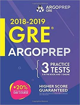 Gre By Argo Prep: Gre Prep 2018 + 14 Days Online Comprehensive Prep Included + Videos + Practice Tests | Gre Book 2018 2019 | Gre Prep By Argo Prep by Gre Prep