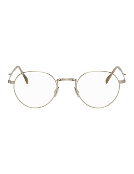 Silver Hachi C Glasses by Mr. Leight