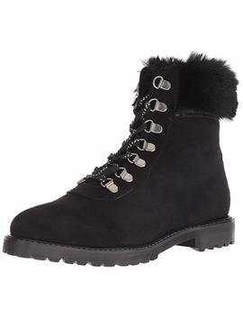Kenneth Cole Reaction Women's Trail Bootie Lace Up With Faux Fur Ankle Boot by Kenneth Cole+Reaction