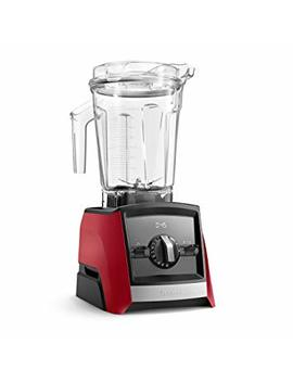Vitamix A2500 Ascent Series Smart Blender, Professional Grade, 64 Oz. Low Profile Container, Red (Certified Refurbished) by Vitamix