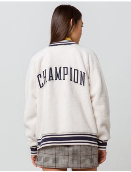 Champion Sherpa Womens Bomber Jacket by Champion