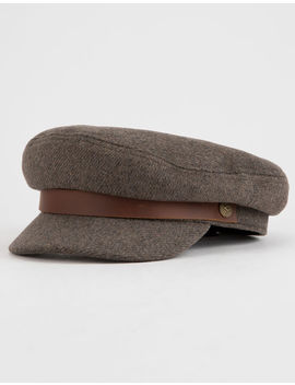 Brixton Brown & Gray Womens Fiddler Cap by Tilly's