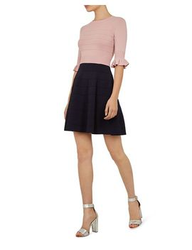 Dyana Color Block Knit Dress by Ted Baker
