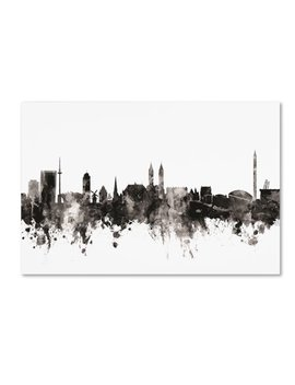Trademark Fine Art 'bremen Germany Skyline I' Canvas Art By Michael Tompsett by Trademark Art