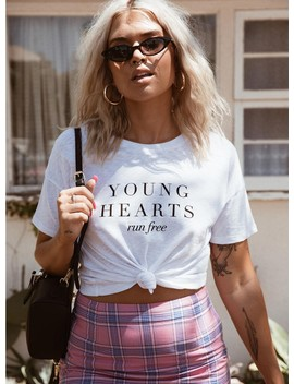 Minkpink Young Hearts Tee by Minkpink