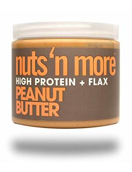 Nuts 'n More Peanut Butter Spread, High Protein, Keto, Great Tasting, All Natural Sports Nutrition, 16 Oz Jar by Nuts 'n More