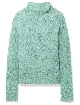 Sukie Oversized Bouclé Turtleneck Sweater by Sies Marjan
