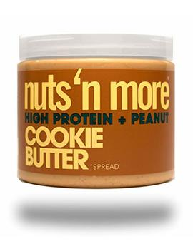 Nuts 'n More Cookie Butter Peanut Spread, High Protein, Great Tasting, All Natural Sports Nutrition, 16 Oz Jar by Nuts 'n More