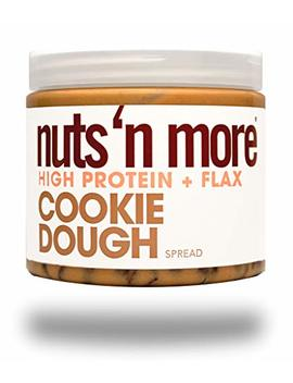 Nuts 'n More Cookie Dough Peanut Spread, High Protein, Great Tasting, All Natural Sports Nutrition, 16 Oz Jar by Nuts 'n More