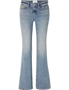 The Jarvis Mid Rise Flared Jeans by Current/Elliott