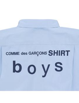 Shirt Blue by Comme Des Garçons Shirt Boys