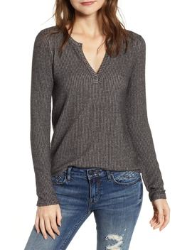 Cozy Rib Knit Top by Socialite