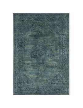 Mistana Makenna Power Loomed Turquoise/Blue Area Rug & Reviews by Mistana