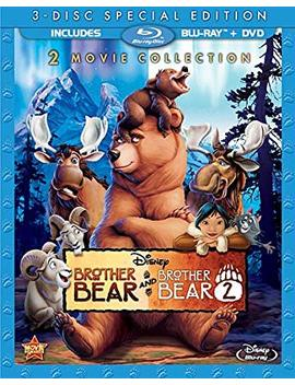 Brother Bear / Brother Bear 2 (Special Edition 2 Movie Collection) [Blu Ray + Dvd] by Joaquin Phoenix