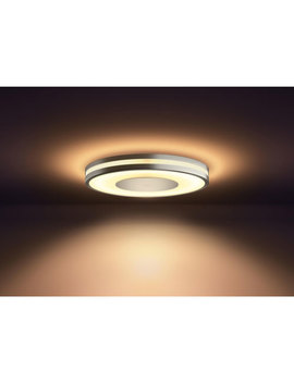 Philips Hue White Ambiance Being Dimmable Led Smart Flushmount Fixture   Aluminium by Philips Hue