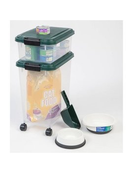 Iris 3 Piece Remington Airtight Container Combo, Green by Iris Usa, Inc.