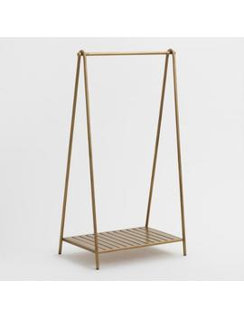 Gold Metal Clothing Rack by World Market
