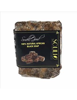 Raw African Black Soap Imported From Ghana 1lb. by Smell Good