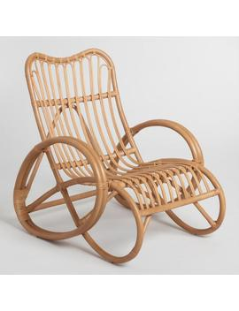 Natural Rattan Whitmore Lounge Chair by World Market