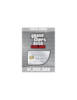 Playstation 4 [Digital] by Grand Theft Auto V $1250000 Great White Shark Cash Card