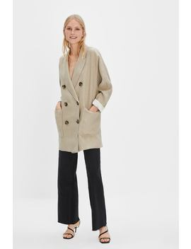 Textured Linen Jacket  Blazers by Zara