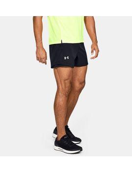 Ua Qualifier Speedpocket 5''men's  Running Shorts by Under Armour