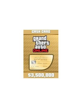 Playstation 4 [Digital] by Grand Theft Auto V $3500000 Whale Shark Cash Card