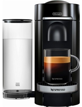 Vertuo Plus Deluxe Coffee Maker And Espresso Machine By De Longhi   Piano Black by Nespresso