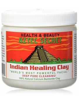 Aztec Secret   Indian Healing Clay   1 Lb. | Deep Pore Cleansing Facial & Body Mask | The Original 100 Percents Natural Calcium Bentonite Clay – New! Version 2 by Aztec Secret