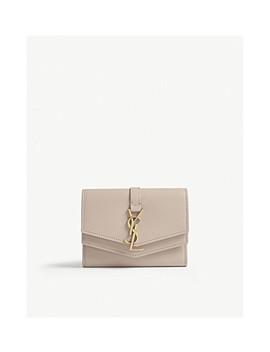 Sulpice Leather Purse by Saint Laurent
