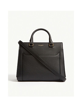 East Side Baby Leather Tote by Saint Laurent