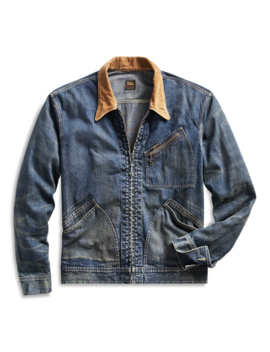 Corduroy Collar Denim Jacket by Ralph Lauren