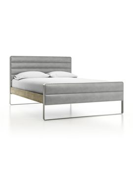 Drew Wood And Metal Full Bed by Crate&Barrel