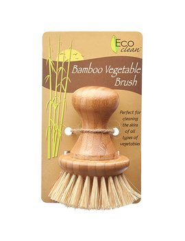 Hic Harold Import Co. Lola Eco Clean Bamboo And Tampico Vegetable Brush by Hic Harold Import Co.