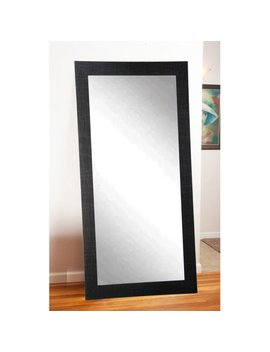 Brandt Works Modern Leaning Floor Mirror   Black by Brandt Works