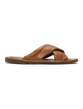 Brown 'laboratorio' Achiles 1 Sandals by Officine Creative