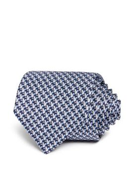 Squirrel Print Silk Classic Tie by Salvatore Ferragamo