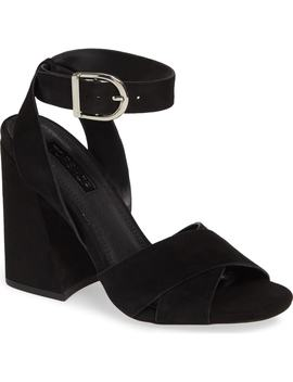 Ronnie Flare Heel Sandal by Topshop